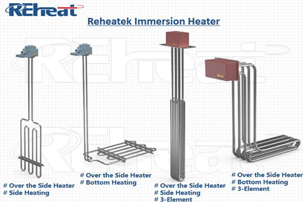 over the side heaters