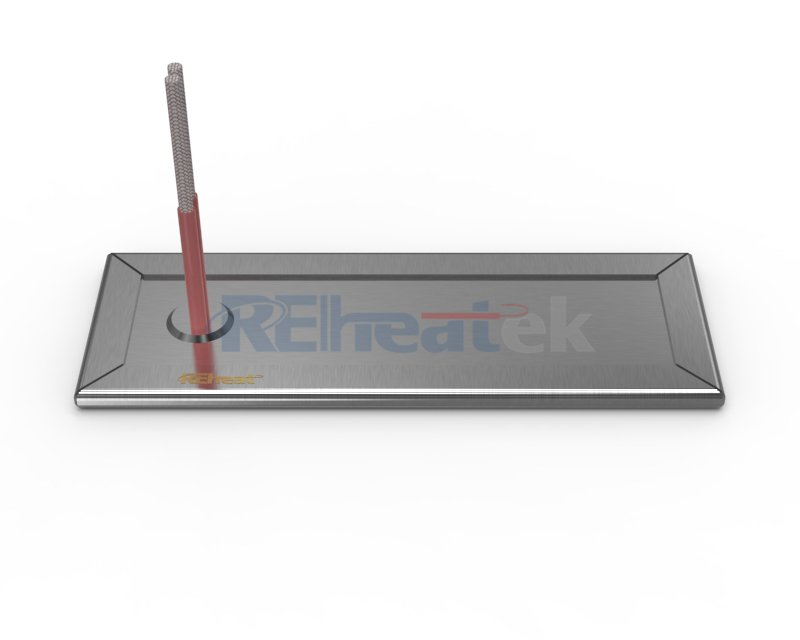 Strip Heater with Surface Leads