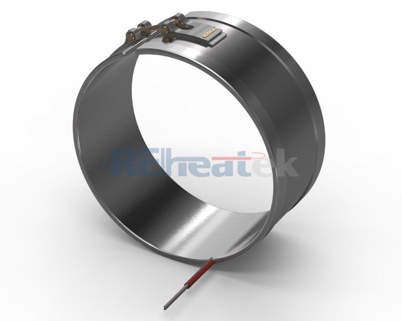 Band Heater with 180 Degree Edge Leads
